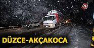 Yoğun Kar Yağışı (VİDEO)
