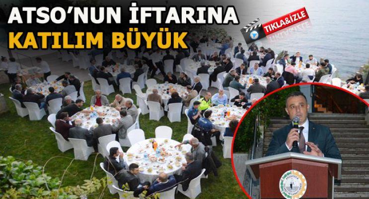 TİCARET ODASI, ÜYELERE VE PROTOKOLE İFTAR VERDİ