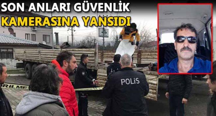 TIR'IN DORSESİNDE ÖLÜ BULUNDU!