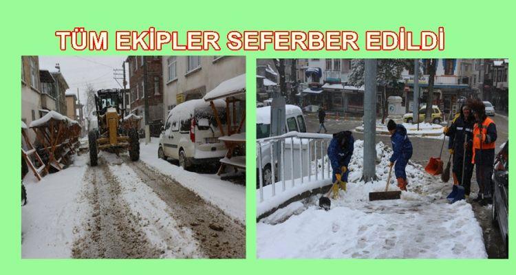TÜM EKİPLER SEFERBER EDİLDİ