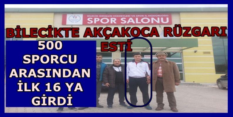TÜRKİYE ŞAMPİYONASINDA AKÇAKOCA VE DÜZCE'Yİ TEMSİL ETTİ