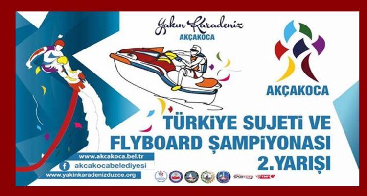 Türkiye Su Jeti ve Flyboard Şampiyonası'na Doğru