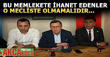 İYİ Parti Grup Başkan vekili Türkkan Akçakoca'da