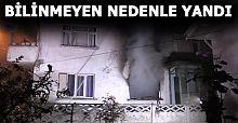 İki katlı binada yangın