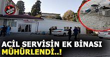 Akçakoca Devlet Hastanesi ek hizmet binası mühürlendi