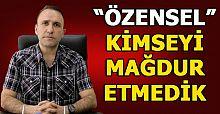 MHP İLÇE BAŞKANI ÖZENSEL'DEN 'ÜYELİKTEN ÇIKARMA' AÇIKLAMASI