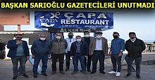 GAZETECİLERE ÖZEL KAHVALTI VERDİ
