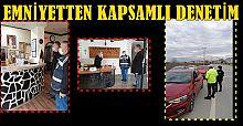 AKÇAKOCA POLİSİNDEN KAPSAMLI DENETİM