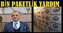 AKÇAKOCA TSO'DAN 1000 AİLEYE RAMAZAN PAKETİ YARDIMI