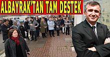 Belediye eski başkanından MHP'nin yeni ilçe başkanına tam destek