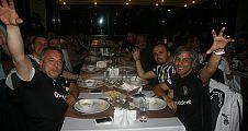 Beşiktaş Taraftarları akşam yemeğinde bir araya geldiler