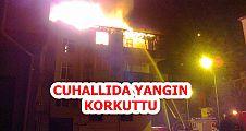 Akçakoca'da yangın