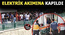 Akçakoca'da elektrik çarpan kişi yaralandı
