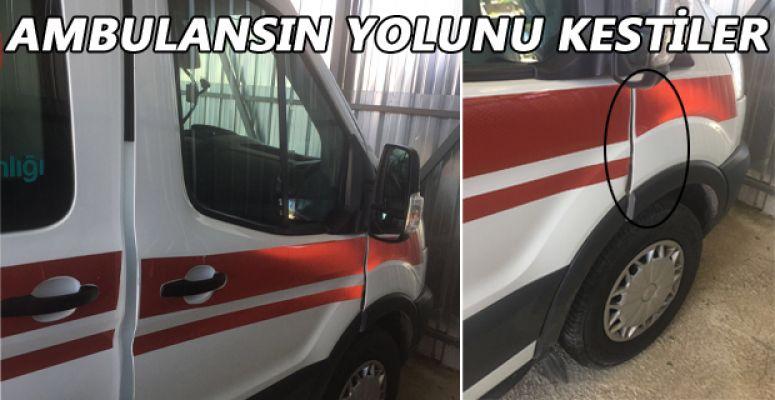 112 EKİBİNİ DARP EDEN ŞAHIS TUTUKLANDI!