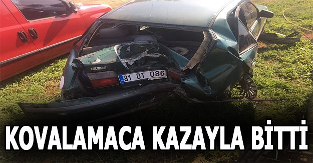 Akçakoca'da kaza