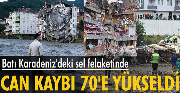 Batı Karadeniz'de sel felaketinin boyutu giderek büyüyor!