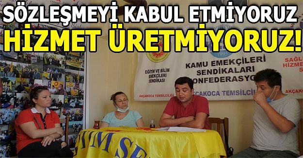 KESK'TEN AÇIKLAMA GELDİ....