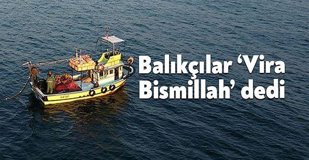 Akçakocalı Balıkçılar Motorları Çalıştırdı…