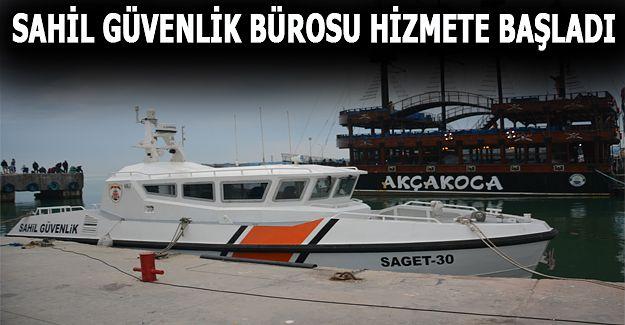 Akçakoca Sahil Güvenlik Bürosu Göreve Başladı