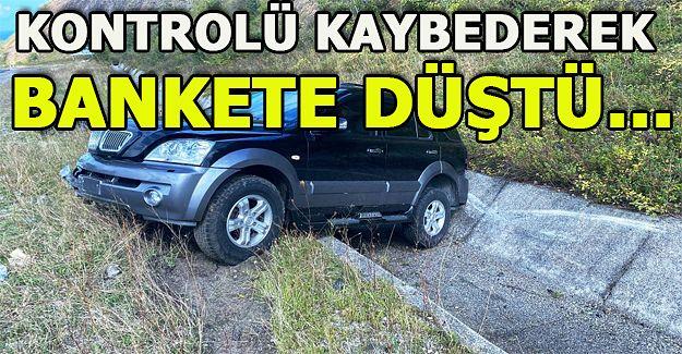 Akçakoca'da kaza: 1 yaralı!..
