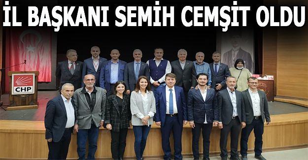 DÜZCE CHP SEMİH CEMŞİT'E EMANET