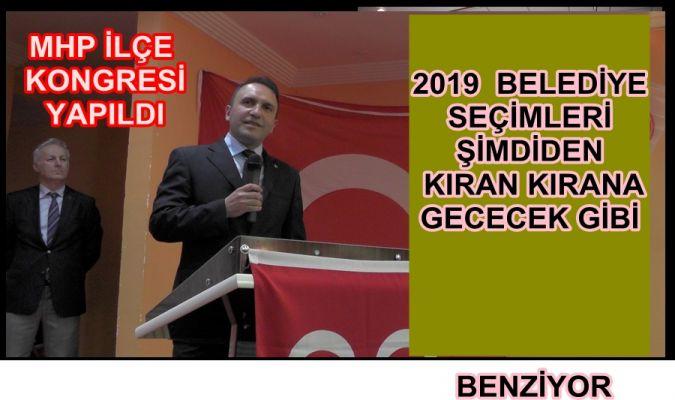 Akçakoca MHP ilçe kongresi yapıldı