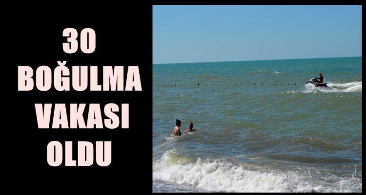 Akçakoca'da 30 boğulma vakası oldu
