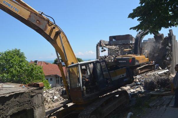 Akçakoca'da Kentsel Dönüşüm çalışması