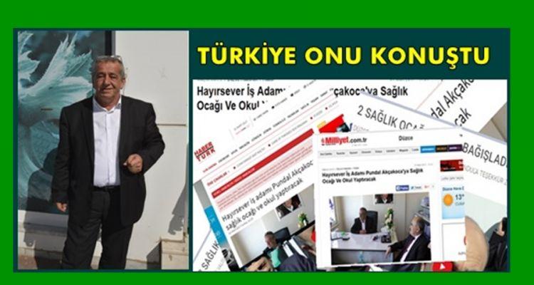 Akçakocalı İşadamı Yaptığı Bağışlarla Türkiye'nin Gündemine Oturdu
