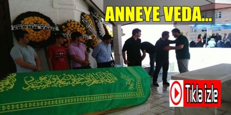 Ertuğrul Sağlam'ın Annesinin Cenaze Namazı Merkez Camiinde Kılındı