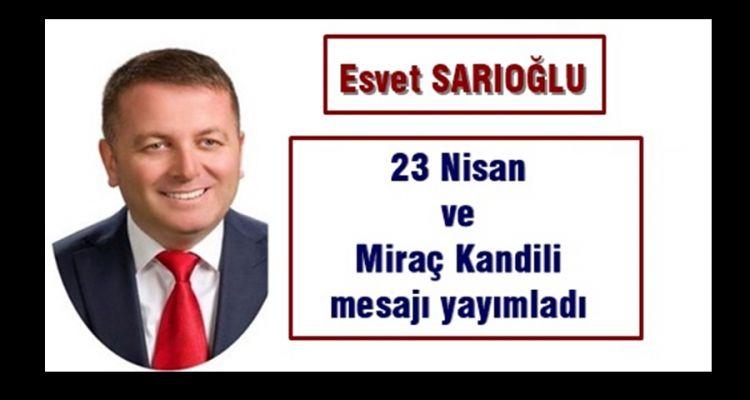 Esvet Sarıoğlu 23 Nisan Ulusal Egemenlik ve Çocuk Bayramını kutladı