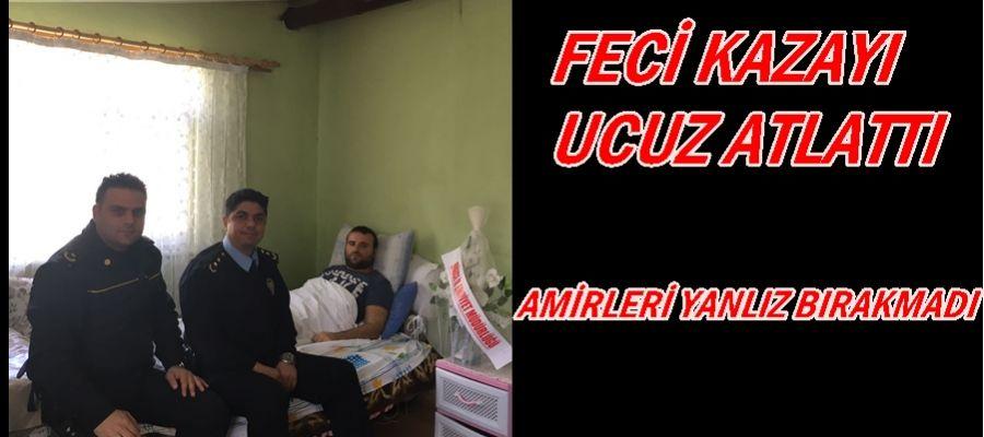 FECİ KAZAYI UCUZ ATLATTI