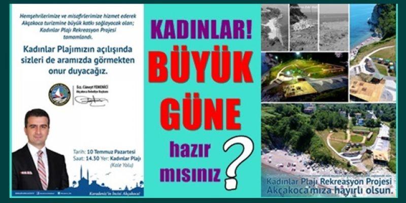 KADINLAR PLAJINA DAVETLİSİNİZ