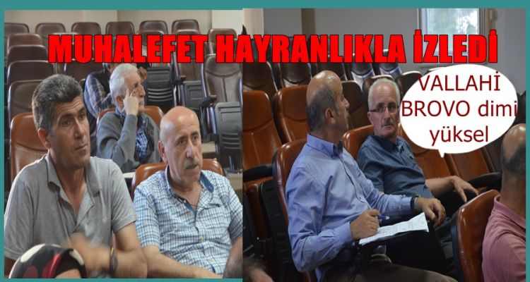 MUHALEFET BAKA KALDI (video haber)