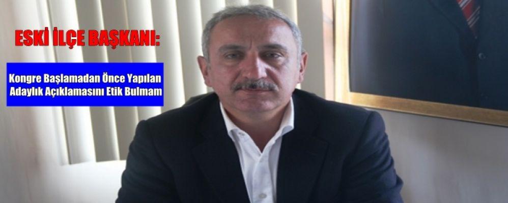 Mustafa Ezer: Seçim Takvimine Uymak Partimize Saygının Gereğidir