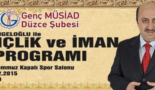 Ömer Döngeloğlu DÜZCE'YE GELİYOR