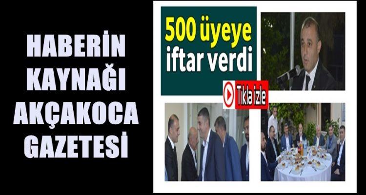 PAZVANT GÜCÜNÜ GÖSTERDİ 500 KİŞİYE İFTAR VERDİ