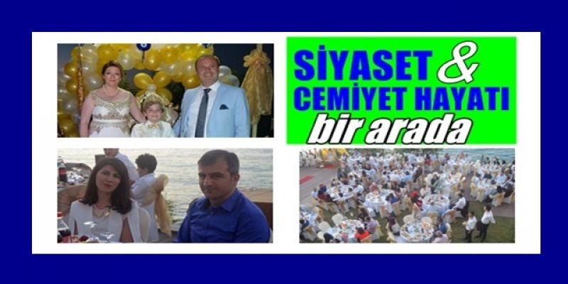 Siyaset ve Cemiyet Hayatının Önde Gelen İsimleri Sünnet Törenindeydi