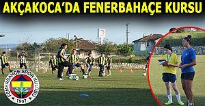 Fenerbahçe Futbol Okulunun Akçakocalı sporcuları çalışmaya başladı