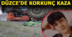 Yarış Pistinde  Takla Atan Traktörde 1 kişi öldü, 1 Kişi Yaralandı
