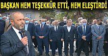 19 Ekim Muhtarlar Günü'nde Akçakoca'da çelenk koyma töreni gerçekleşti
